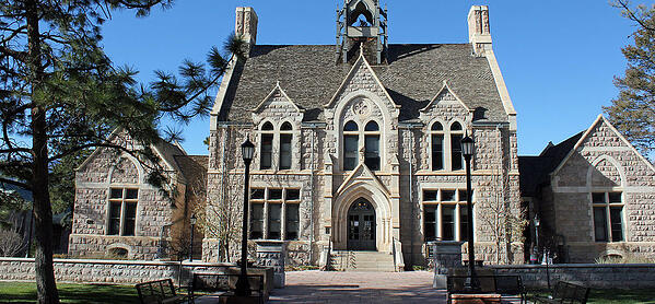 Cutler Hall, located at 912 North Cascade Avenue, on the Colorado College campus, in Colorado Springs, Colorado. The property is listed on the National Register of Historic Places.